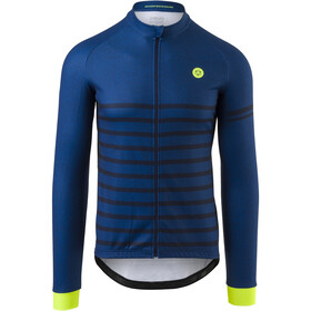 AGU Essential Melange LS Jersey Men, rebel blue